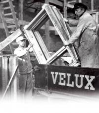 Мансардные окна VELUX с открыванием по центральной оси