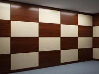 Панели стеновые шпонированные